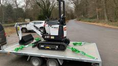 Humbaur Universal 3000 Motorrad & Fahrzeugtransportanhänger