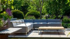 vonsumadesign stilvolle Outdoor-Lounge - modular, individuelle Zusammenstellung - für Außen- und Innenbereich