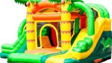 Hüpfburg Jumpy Fun Dschungel