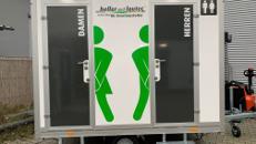 Toilettenwagen mieten / Mobile Toilette / WC-Wagen Typ: 1&1