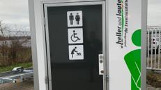 Toilettenwagen mieten / Mobile Toilette / WC-Wagen Typ: Personal / Behinderten barrierefrei