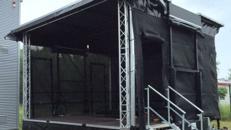 Bühne mieten Mobil / Trailerbühne / Showbühne Typ: EcoStage 6+5m
