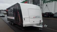 Geschlossener Fahrzeugtransport-Anhänger SPECTRA MST 26