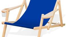 Liegestuhl & Sonnenschirm