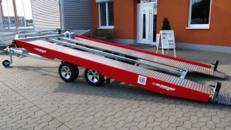 RAMBO 21 (doppelachser extra lang)  Hochlader 3.500 kg kippbar / doppelachser mit durchgehender Ladefläche, Aluprofilboden mit Anfahrschutz, Windenstand + Seilwinde – 100 km/h