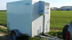 Mr. Been (einachser)  Kühlanhänger 1300 kg bis plus 2°C Kühlung / 100 km/h