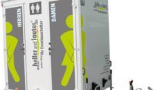 Toilettenwagen mieten / Mobile Toilette / WC-Wagen Typ: 1&1 VIP