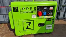 Zipper ZI-STE7500DSH Diesel Stromgenerator Erzeuger 5KW