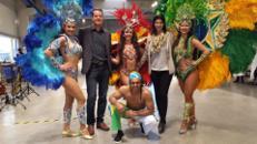 Attraktive Brasil Samba Tänzerinnen / Mitreißende Samba Show bundesweit zu buchen
