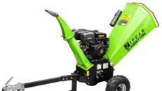 Zipper ZI-HAEK11000 Benzin Gartenhäcksler Schredder 12 cm