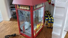 Professionelle Popcornmaschine