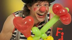 Clown Filous bunte Luftballonwelt