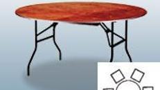 Bankett-Tisch 122cm