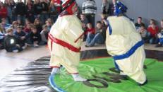 Sumoringen für Kinder - Sumowrestling
