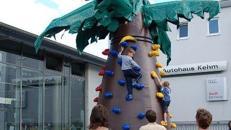 Kletterpalme: Klettererlebnis mit Spaßwettbewerb