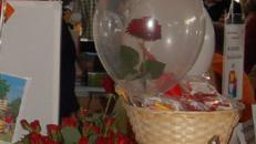 Rose im Ballon inkl.19%MwSt.