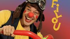 Clown Filou`s abenteuerliche Reise