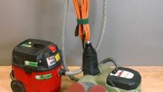 Parkett Kork Quadro / 4 Teller Schleifmaschine