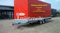 Roter Stier 2500 kg - 6100 x 2100 x 2400 gebremst