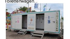 WC - Wagen mit Kindertoilette & Wickeltisch