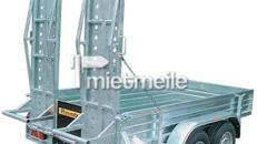 Pershing Baggertransporter mit Zugmaul 3500 kg
