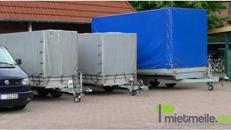 Anhänger 2,7 Tonnen/ Einachser/ Planenanhänger