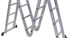 Vielzweck-Leiter 4 x 4 Sprossen