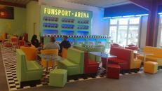 Funsport-Arena für 10-200 Personen zum günstigen Preis