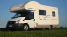 Wohnmobil Caravan bis 6 Personen Klima Tempomat CD-Radio Markise