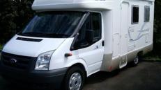 Wohnmobil Caravan Ford Transit Rimor bis 4 Personen
