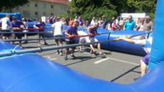 Menschenkicker Lebendkicker Human Table Soccer