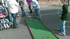 Mobile Mini Golf Anlage