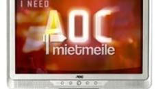 AOC 19 Zoll Monitor Display Screen Bildschirm