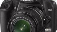 Canon EOS 1000D mit Objektiv 18-55 mm 2. Akku, 2 GB Speicherkarte und Transporttasche