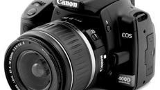 Canon EOS400D + 2GB CF-Card + Ersatzakku + Objekiv 18-55 mm