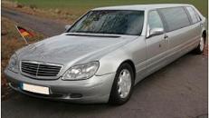 Mercedes-Benz Stretchlimo - Hochzeitsauto inkl. Chauffeur