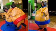 Funny Sumo Ringer