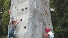 "Kletterturm ""The Rock"" inkl. 2 Betreuer (6 Std.)"