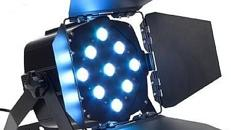 Led Fluter 9 x 9 Watt triLED