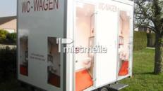 Edler exklusiver Toilettenwagen für Partys etc...