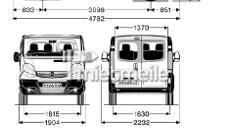 Mietwagen (Transporter) Vivaro,Sprinter o. ähnlich