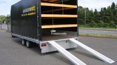 KFZ Transporter geschlossen mit Plane 5m 3,5t