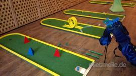Mobile Minigolfbahnen (18 verschiedene Bahnen)