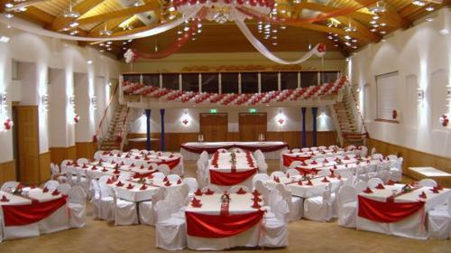 Stuhlhussen mieten, Hochzeitsdekoration