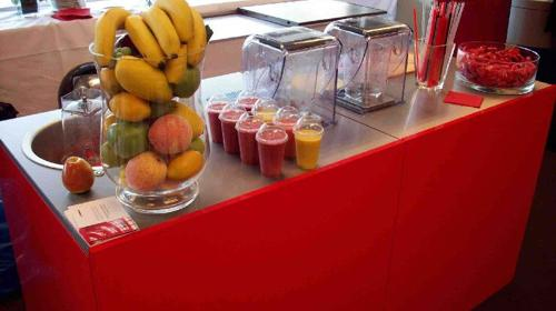 Smoothiebar/ Smoothie/ Catering/ Event/ Messe/ Party/ pure fruit mobile