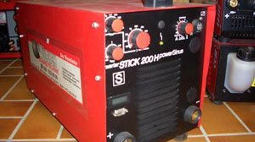 E-Schweissgleichrichter Elektrode E-Hand Gerät