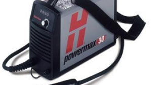 Hypertherm Powermax 30, Plasmaschneidanlage