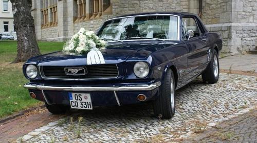 1966, Ford Mustang V8 Coupe´, dunkelblau