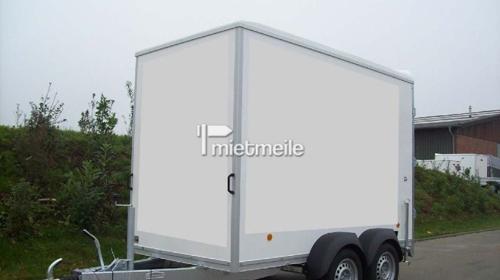 Plywood - Kofferanhänger, 100 km/h Zulassung