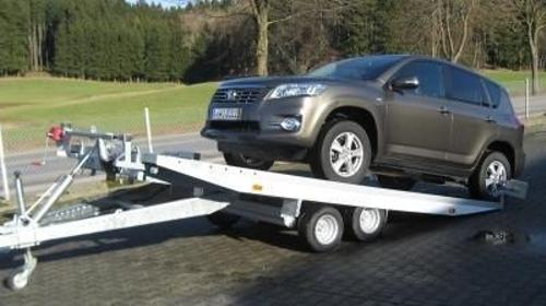 Alu-Autotransporter 100 km/h Zulassung,